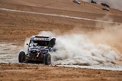 January 10, 2019 - Arequipa, Peru - AREQUIPA, PU - 10.01.2019: DAKAR 20189 - Kariakin Sergei (RUS) during the Dakar Rally 2019, on Wednesday (10), in Arequipa, Peru. (Credit Image: © Vinicius Branca/Fotoarena via ZUMA Press)