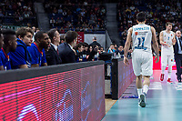 Real Madrid Facundo Campazzo and Anadolu Efes bench during Turkish Airlines Euroleague match between Real Madrid and Anadolu Efes at Wizink Center in Madrid, Spain. January 25, 2018. (ALTERPHOTOS/Borja B.Hojas)