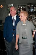GRAYDON CARTER; CAROLINA HERRERA; GIANCARLO GIACOMETTI, Graydon and Anna Carter host a lunch for Carolina Herrera to celebrate the ipening of her new shop on Mount St. .The Connaught. London. 20 January 2010