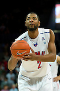 DALLAS, TX - JANUARY 21: Shawn Williams #2 of the SMU Mustangs shoots a free-throw against the Rutgers Scarlet Knights on January 21, 2014 at Moody Coliseum in Dallas, Texas.  (Photo by Cooper Neill/Getty Images) *** Local Caption *** Shawn Williams