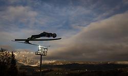 06.01.2014, Paul Ausserleitner Schanze, Bischofshofen, AUT, FIS Ski Sprung Weltcup, 62. Vierschanzentournee, Probesprung, im Bild Marinus Kraus (GER) // Marinus Kraus (GER) during Trial Jump of 62nd Four Hills Tournament of FIS Ski Jumping World Cup at the Paul Ausserleitner Schanze, Bischofshofen, Austria on 2014/01/06. EXPA Pictures © 2014, PhotoCredit: EXPA/ JFK