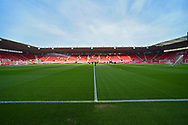St Mary's Stadium before the FIFA Women's World Cup UEFA Qualifier match between England Ladies and Wales Women at the St Mary's Stadium, Southampton, England on 6 April 2018. Picture by Graham Hunt.