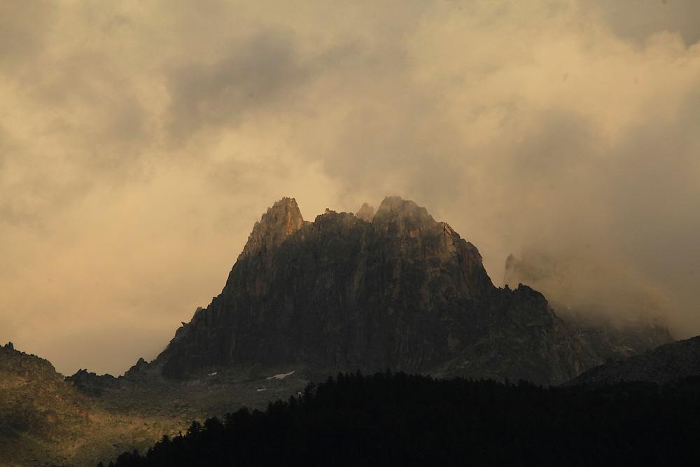 Chamonix, Mt Blanc, Mont Blanc, Alps, Mountains, Clouds, Photo Dan Kullberg, www.dankullberg.com