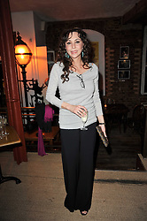 MARIE HELVIN at the gala night party of Losing It staring Ruby Wax held at he Menier Chocolate Factory, 51-53 Southwark Street, London SE1 on 23rd February 2011.