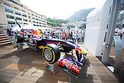 May 21, 2014: Monaco Grand Prix: Red Bull hospitality