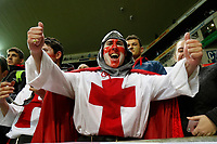 CAPE TOWN, SOUTH AFRICA - JUNE 23: English fans celebrate after beating the Springboks at Newlands Stadium on June 23, 2018 in Cape Town, South Africa. (Photo by MB Media/Getty Images)