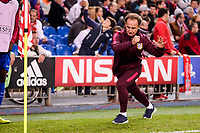 Atletico de Madrid's physical trainer Oscar Ortega during a match of UEFA Champions League at Vicente Calderon Stadium in Madrid. November 01, Spain. 2016. (ALTERPHOTOS/BorjaB.Hojas)