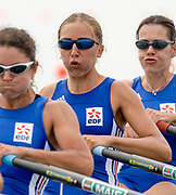 2005, World Rowing Championships, Nagaragawa International Regatta Course, Gifu, JAPAN: Monday  29.08.2005. FRA LW4X Coralie Ribeil, .  © Peter Spurrier/Intersport Images - email images@intersport-images.com
