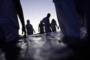 20180202/ Nicolas Celaya - adhocFOTOS/ URUGUAY/ MONTEVIDEO/ PLAYA RAMIREZ/ Celebración del día de Yemanja en la playa Ramírez, Montevideo.<br /> En la foto: Celebración del día de Yemanja en la playa Ramírez, Montevideo.  Foto: Nicolás Celaya /adhocFOTOS