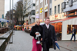 "Cologne, Germany, Jan. 2012 -  Out on the Town: Locals stroll through the ""Old Town"" district in Cologne, Germany. (Photo © Jock Fistick)."