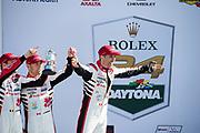 January 25-26, 2020. IMSA Weathertech Series. Rolex Daytona 24hr. #88 WRT Speedstar Audi Sport Audi R8 LMS GT3, GTD: Rolf Ineichen