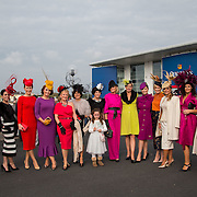 09.10.2016           <br /> Celia Holman Lee was joined all the stylish ladies at the Keanes Jewellers Best dressed competition at Limerick. Picture: Alan Place