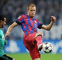 Fotball<br /> 18.09.2013<br /> Foto: Witters/Digitalsport<br /> NORWAY ONLY<br /> <br /> Pantelis Kapetanos (Bukarest)<br /> <br /> Fussball, Champions League, Gruppenphase, FC Schalke 04 - Steaua Bukarest