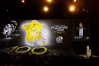 CYCLING - PRESENTATION TOUR DE FRANCE 2013 - PARIS (FRA) - 24/10/2011 - PHOTO JULIEN BIEHLER / DPPI - Large view illustration - Christian PRUDHOMME (Fra) ASO TDF Director - The 100th edition - Centenaire