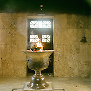 Ateshkadeh, often referred to as the Zoroastrian Fire Temple, houses a flame that is said to have been burning since about AD 470. Visible through a window from the entrance hall, the flame was transferred to Ardakan in 1174, to Yazd in 1474 and to its present site in 1940. It is cherished by the followers of the Zoroastrian faith – the oldest of the world's monotheistic religions.<br /> <br /> Surrounded by desert, the city of Yazd is famous for its architecure, its wind towers and its traditional zoroastrian community of fire worshippers.  <br /> <br /> Travelling over 4000km by train across Iran. An opportunity to enjoy Persian hospitality, discover Iran's ancient cities and its varied landscapes, from deserts to mountains.