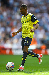 Rob Hall of Oxford United in action - Photo mandatory by-line: Jason Brown/JMP -  02/04//2017 - SPORT - Football - London - Wembley Stadium - Coventry City v Oxford United - Checkatrade Trophy Final