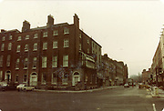 Old amateur photos of Dublin streets churches, cars, lanes, roads, shops schools, hospitals, Streetscape views are hard to come by while the quality is not always the best in this collection they do capture Dublin streets not often available and have seen a lot of change since photos were taken Merrion SQ, 18th Century National Art Gallery, Leinster Market D'Oilers St, Hall, Dental Hospital, Lincolon Place, MV Arran Memorial Hawkin St, Greens Book Shop FEB 1985