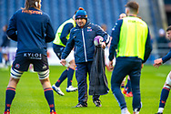 Edinburgh Rugby head coach, Richard Cockerill during the warm up before the European Rugby Challenge Cup match between Edinburgh Rugby and SU Agen at BT Murrayfield, Edinburgh, Scotland on 18 January 2020.