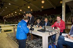 Van Dijck Marc, (BEL)<br /> BWP Hengsten keuring Koningshooikt 2015<br /> © Hippo Foto - Dirk Caremans<br /> 23/01/16