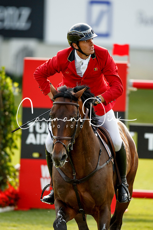 Wathelet Gregory, (BEL), Conrad de Hus<br /> Team and 1th individual qualifier <br /> FEI European Championships - Aachen 2015<br /> © Hippo Foto - Dirk Caremans<br /> 19/08/15