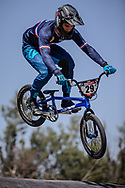 #29 (RENCUREL Jeremy) FRA at round 8 of the 2018 UCI BMX Supercross World Cup in Santiago del Estero, Argentina.