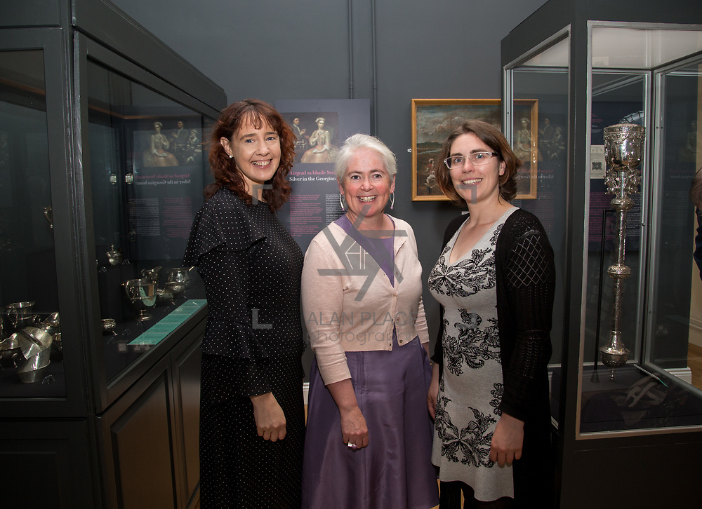 30.05. 2017.                                             <br /> Limerick Museum opened the doors to its new home at the former Franciscan Friary on Henry Street in the heart of Limerick city, dedicated to the memory of Jim Kemmy, the former Democratic Socialist Party and Labour Party TD for Limerick East and two-time Mayor of Limerick.<br /> <br /> Pictured at the opening were, Jackie Hayes, Sheila Deegan and Sharon Slator,  of Limerick City and County Council.<br /> <br /> The museum will house one of the largest collections of any Irish museum. Picture: Alan Place