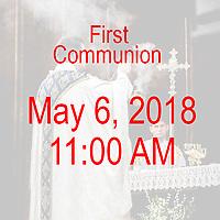 St Catherine 1st Communion 11AM 05-06-18