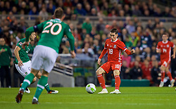DUBLIN, IRELAND - Tuesday, October 16, 2018: Wales' Harry Wilson during the UEFA Nations League Group Stage League B Group 4 match between Republic of Ireland and Wales at the Aviva Stadium. (Pic by Paul Greenwood/Propaganda)