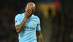 Fabian Delph of Manchester City- Mandatory by-line: Alex James/JMP - 18/11/2017 - FOOTBALL - King Power Stadium - Leicester, England - Leicester City v Manchester City - Premier League