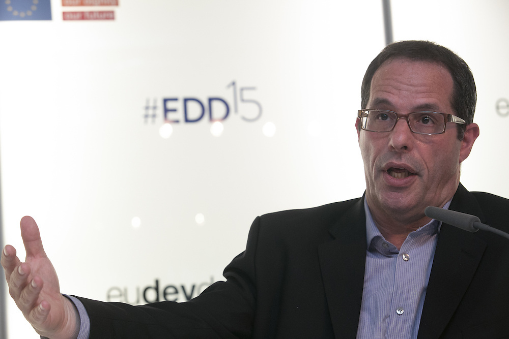 03 June 2015 - Belgium - Brussels - European Development Days - EDD - Education - Education for all - Achievements and challenges (2000-2015) - Aaron Benavot , Director - Education for All Global Monitoring Report © European Union