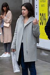 **** DOES NOT WANT PIC USED:<br /> Advertising executive Andrea Smith, 35 from North London outside Topshop at Oxford Circus in London. London, October 26 2018.