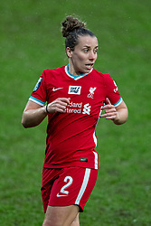 BIRKENHEAD, ENGLAND - Sunday, March 28, 2021: Liverpool's Becky Jane during the FA Women's Championship game between Liverpool FC Women and Blackburn Rovers Ladies FC at Prenton Park. The game ended in a 1-1 draw. (Pic by David Rawcliffe/Propaganda)