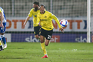 Sean Clare of Burton Albion (28) with the ball during the EFL Sky Bet League 1 match between Burton Albion and Bristol Rovers at the Pirelli Stadium, Burton upon Trent, England on 2 March 2021.