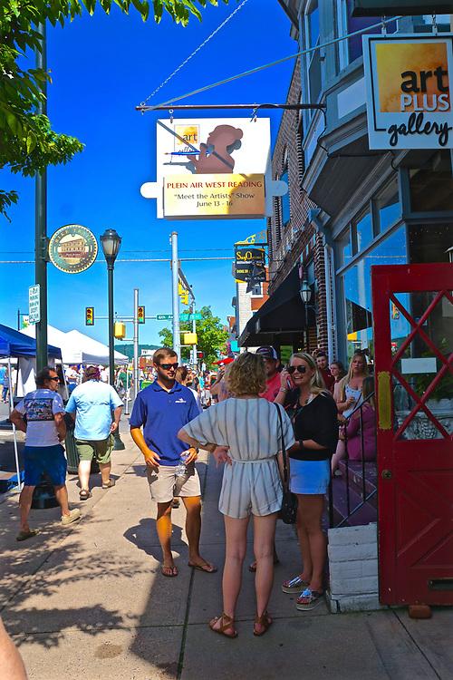 West Reading Art Fest. Berks Co., PA