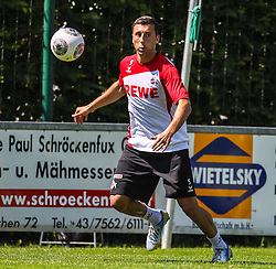 02.07.2013, Dana Arena Windischgarsten, WIndischgarsten, AUT, GER 2. FBL, Trainingslager 1. FC Koeln, im Bild Dominic Maroh, (1. FC Koeln, #5) // during the training Camp of the German Bundesliga Club 1. FC Koeln at the Dana Arena Windischgarsten, Windischgarsten, Austria on 2013/07/02. EXPA Pictures © 2013, PhotoCredit: EXPA/ Roland Hackl