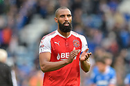 Fleetwood Town Defender, Nathan Pond (6) during the EFL Sky Bet League 1 match between Portsmouth and Fleetwood Town at Fratton Park, Portsmouth, England on 16 September 2017. Photo by Adam Rivers.