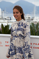 Actress Lyna Khoudri at Papicha film photo call at the 72nd Cannes Film Festival, Friday 17th May 2019, Cannes, France. Photo credit: Doreen Kennedy
