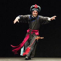 VENICE, ITALY - JULY 29: Ke Jun director of the Kunqu Opera of Jiangsu performs at Teatro Goldoni on July 29, 2011 in Venice, Italy. Kunqu Opera, now under the Unesco patronage, originated in the Jiangsu province, dating back to the early Ming dinasty. With a history of more than six hundred years, Kunqu Opera is a traditional type of Chinese drama and one of the most ancient opera forms in China and in the world.