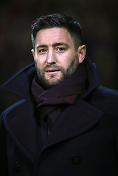 """Bristol City manager Lee Johnson during the Sky Bet Championship match at Bramall Lane, Sheffield. PRESS ASSOCIATION Photo. Picture date: Friday December 8, 2017. See PA story SOCCER Sheff Utd. Photo credit should read: Mike Egerton/PA Wire. RESTRICTIONS: EDITORIAL USE ONLY No use with unauthorised audio, video, data, fixture lists, club/league logos or """"live"""" services. Online in-match use limited to 75 images, no video emulation. No use in betting, games or single club/league/player publications."""