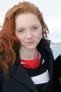 Super model Lily Cole & Australian Designer Charlie Brown cruise Sydney Harbour just before the launch of Mercedes Australian Fashion Week. .[Total 26 pictures].[None Exclusive]