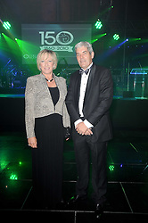 CLAIRE HORTON CEO of Battersea Dogs & Cats Home and HOWARD BRIDGS Deputy CEO of Battersea Dogs & Cats Home at the Collars & Coats Gala Ball celebrating 150 years of Battersea Dogs & Cats Home held at Battersea Power Station, London on 25th November 2010.