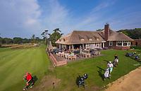 HILVERSUM -  met de nieuwe puttinggreen. en hole 10 links.  het nieuwe clubhuis . Hilversumsche Golf Club, COPYRIGHT  KOEN SUYK