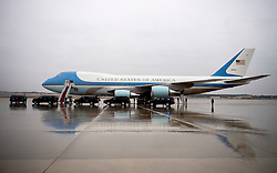 Air Force One is seen on the tarmac at Joint Base Andrews, Maryland on December 6, 2016. President-elect Donald Trump tweeted this morning that the government should cancel the order for the new Air Force One replacement from Boeing, citing the more than $4 billion price tag. Photo by Kevin Dietsch/UPI