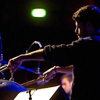 Portico Quartet performing live at Bridgewater Hall, Manchester, 2011-02-07
