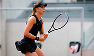Paula Badosa of Spain in action during the second round at the Roland-Garros 2021, Grand Slam tennis tournament on June 2, 2021 at Roland-Garros stadium in Paris, France - Photo Rob Prange / Spain ProSportsImages / DPPI / ProSportsImages / DPPI