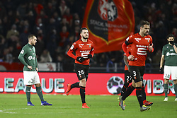 February 10, 2019 - Rennes, France - Deception Valentin Vada  (Credit Image: © Panoramic via ZUMA Press)