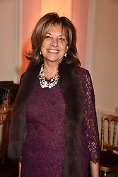 Vimla Lalvani at a reception to celebrate the publication on 'Mother Anguish' by Basia Briggs held in The Music Room, The Ritz Hotel, 150 Piccadilly, London, England. 04 December 2017.