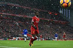 10th December 2017 - Premier League - Liverpool v Everton - Sadio Mane of Liverpool - Photo: Simon Stacpoole / Offside.