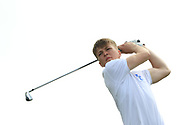 Ronan Cowhey (Blackrock College) on the 8th tee during the Final of the Irish Schools Senior Championship at Portstewart Golf Club, Portstewart, Co Antrim on Tuesday 23rd April 2019.<br /> Picture:  Thos Caffrey / www.golffile.ie