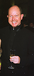 Designer BRIAN RENNIE, at a fashion show in London on 24th March 1999.MPS  31 mo